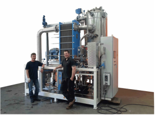 EPCOVAP MVR Compact evaporator