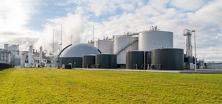 Biogas reject water MVR evaporation plant